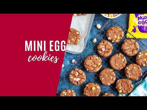Chocolate Mini Egg Cookies