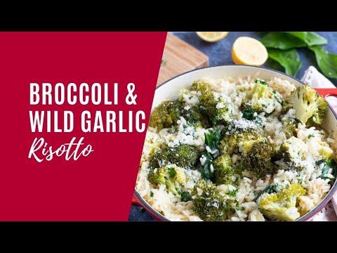 Broccoli and Wild Garlic Risotto