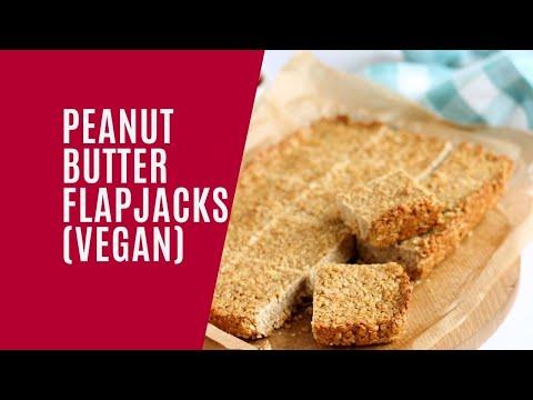 Vegan Peanut Butter Flapjacks