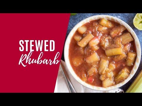 Stewed Rhubarb