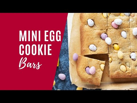 Mini Egg Cookie Bars
