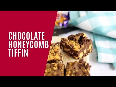 Chocolate Honeycomb Tiffin