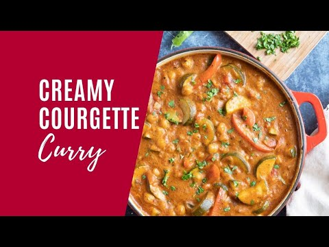 Creamy Courgette Curry