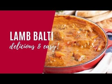 Lamb Balti