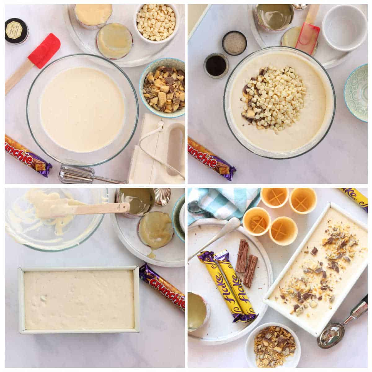 Step-by-step photo instructions for making the recipe
