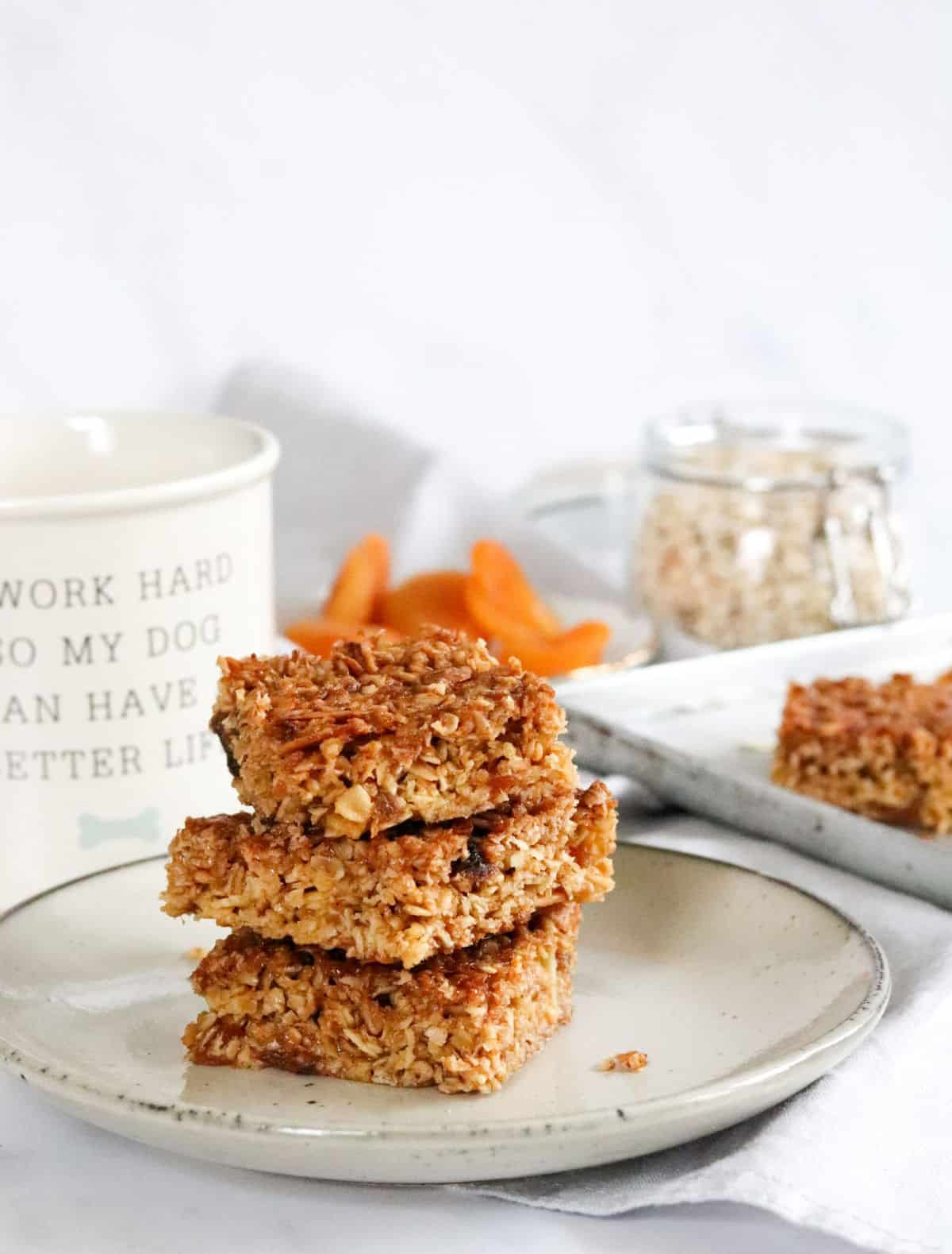 Apricot and Almond Flapjacks