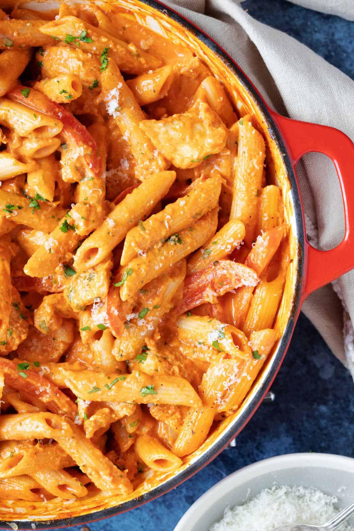 Creamy Cajun Chicken Pasta   Effortless Foodie