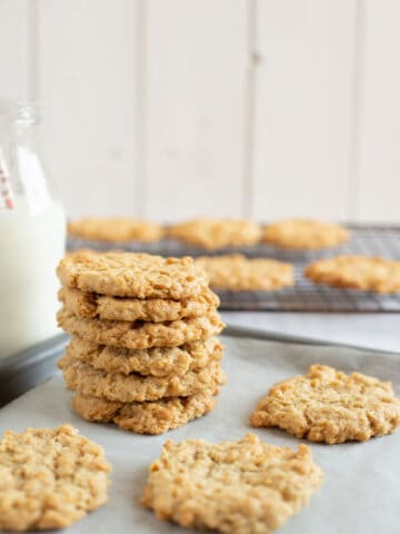 oatmeal cinnamon cookies.