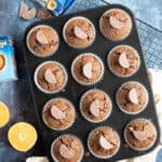 Terry's chocolate orange muffins.