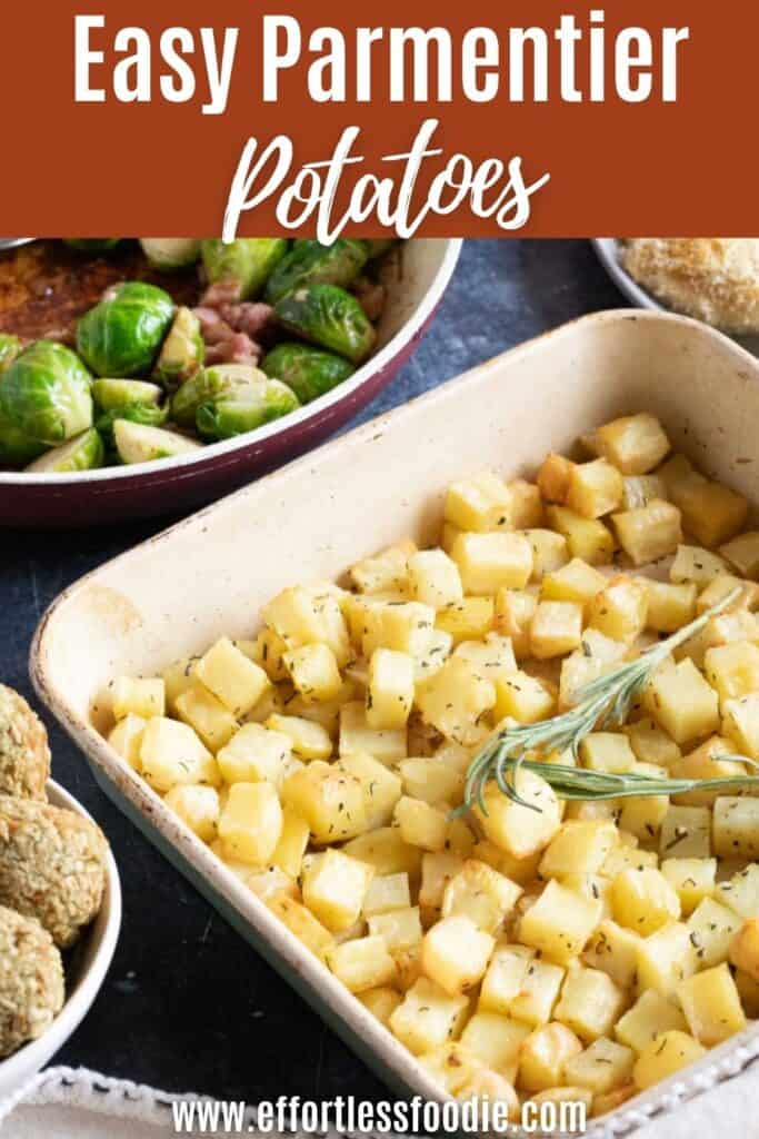 Parmentier potatoes pin image.
