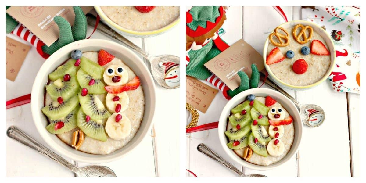 Slow cooker porridge at Christmas